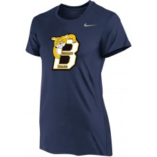 Bethany 12: Nike Women's Legend Short-Sleeve Training Top - Navy