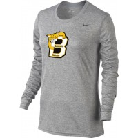 Bethany 15: Nike Women's Legend Long-Sleeve Training Top - Gray