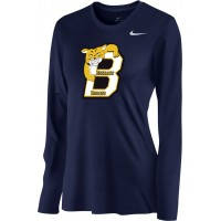 Bethany 15: Nike Women's Legend Long-Sleeve Training Top - Navy