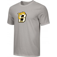 Bethany 16: Adult-Size - Nike Combed Cotton Core Crew T-Shirt - Gray