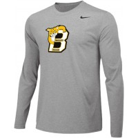 Bethany 13: Adult-Size - Nike Team Legend Long-Sleeve Crew T-Shirt - Gray