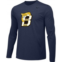 Bethany 13: Adult-Size - Nike Team Legend Long-Sleeve Crew T-Shirt - Navy